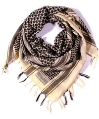 Y-wu Čtvercový šátek s třásnemi palestina 110cm   110cm 3B1-2234 fb4110bdb1
