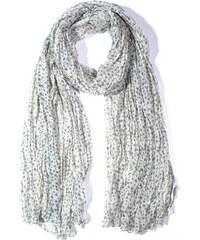 Y-wu Dlouhý šátek se vzorem hvězdičky béžový 190cm 100cm 1F2-121321 c48d2909f7