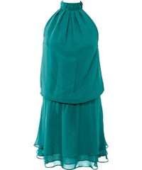 BODYFLIRT Kleid ohne Ärmel in grün von bonprix
