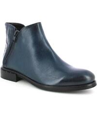 Tmavomodré dámske členkové topánky z brúsenej kože GANT Jennifer ... 35f5bf8824e