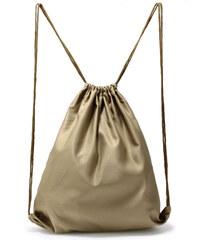 L S Fashion Batůžek Beige Drawstring Backpack - béžový AGD005 BEIGE c340212e359