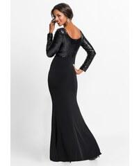 114aab8b7de Plesové šaty s dlouhým rukávem