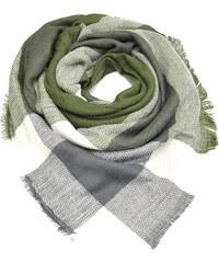 Zelené kostkované dámské šály - Glami.cz 5cd132b7f6