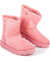 CNB Originálne ružové snehule s odopínateľnými uškami a chvostíkom 94c313da17