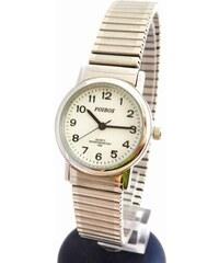 Dámské stříbrné ocelové hodinky Foibos 7432.1 s natahovacím páskem 72aea057043