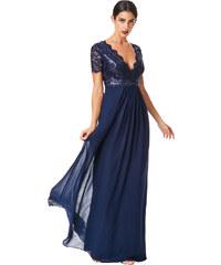 13952cf585ff Goddiva Plesové a společenské šaty modrá