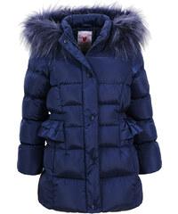 Glo-Story Fodroszsebű sötétkék kabát e365fd1088