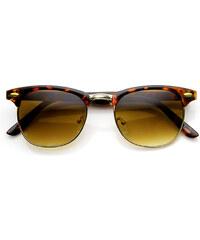 Sunmania slnečné okuliare Clubmaster 103 leopardí vzor 266f5bc5460