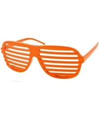 Sunmania párty okuliare Shutter Shades 211 oranžové 92a8a147514