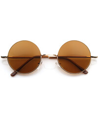 Sunmania slnečné okuliare Lenonky 251 zlaté 706bd9b2efa