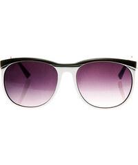 Sunmania číre retro okuliare 274 čierne. Detail produktu · Sunmania dámske  slnečné okuliare 358 biele 03c6563588e