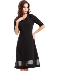 ac44760dd7c MOE Dámské společenské šaty s volnou sukní černé