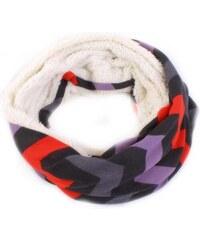 Princess Anita hřejivý zimní šátek G5 fialová 0a2f87fbdd