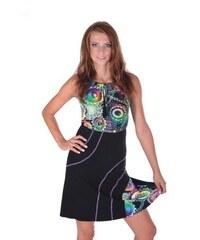 6b8d7b7d2f8 Afrodit Letní šaty Meriel se zavazováním za krk 40