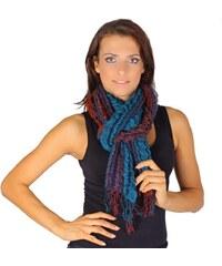 Princess Oranžový zimní šátek Karolin C1 1d94457959