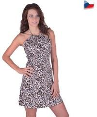 59ef3c62568 Afrodit Letní šaty Emma se zvířecím motivem 38