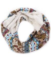 Princess Zimní šátek Mirka G6 hnědá 67bf4967b5