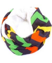 Princess Anita hřejivý zimní šátek G5 oranžová dde2eec27a