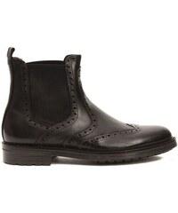 272515faaa18 Trussardi Collection Pánske členkové topánky RL-10 VERZUOLO Fango   Mud
