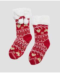 Vánoní papue AMBRE 40 41 Rouge - Etam 982d2bd8a2