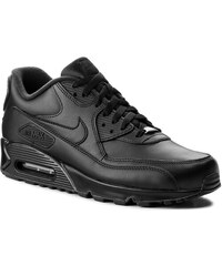 Cipő NIKE - Air Max 90 Leather 302519 001 Black Black af5f5d4cdf