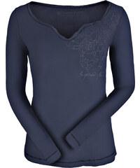 2066be2518cf ALPINE PRO TIANA Dámske tričko s dlhým rukávom LTSK226602PA mood indigo S