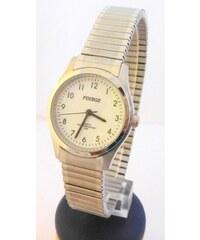 Dámské stříbrné ocelové hodinky Foibos 7285.4 s natahovacím páskem 5e625ade08