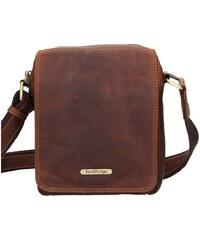 9bd93378cc Sendi Design Pánská kožená taška přes rameno SendiDesign Patrik - hnědá