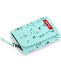 7ce5f51fa2 Dětská peněženka Reisenthel Wallet S kids Cats and dogs mint