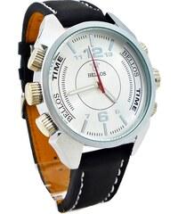 c986632a2b6 Pánské hodinky Bellos Purely stříbrno-černé 117P