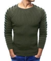 9388b9a5ec50 Manstyle Pánsky sveter khaki