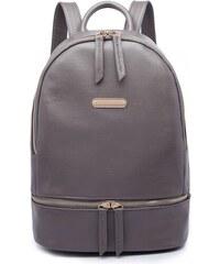 a0e1de3d24 Lulu Bags (Anglie) Šedý dámský elegantní batoh Fantel