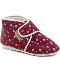 Rogallo 2655-007 bordó dámské zimní papuče. Velikosti  pouze EU 40. Detail  produktu. Pegres 1036 vínové dámské kotníkové papuče ab4afb32e4