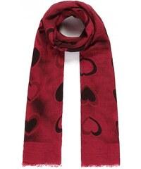Mixone Luxusní šátek Hearts Red 58a203111a