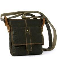 Pánská kožená taška přes rameno GreenLand 2213-24 hnědá 99edaccea6a