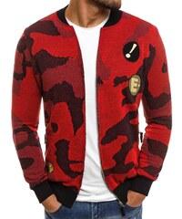 Rote Sweatjacken und Sweatshirts für Herren ohne Kapuze - Glami.de 30ea076de7