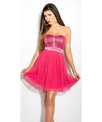 342418db1f1b Ružové Tanečné Šaty z obchodu Vasa-moda.sk - Glami.sk