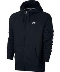 Pánská mikina Nike SB ICON FZ HOODIE L black white L 23aa8adb708