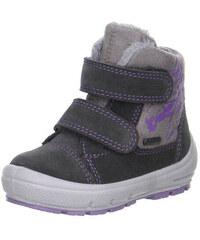 Superfit 1-00313-06 zimné topánky GROOVY šedá 28 8dc8c9c66cf