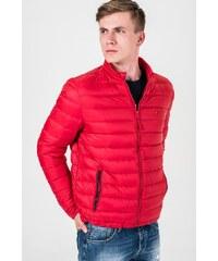 Tommy Hilfiger pánská červená bunda Basic - Glami.sk b4ec6a16479