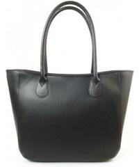 Černá dámská kožená kabelka VERA PELLE GL44N VERA PELLE GL44N 870e64db6c0