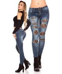 b81febc1d6d Koucla Dámské úzké džíny