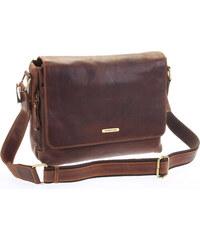 2521fa3cbd SendiDesign Hnedá luxusná veľká kožená taška - Sendi Design Hermes hnedá