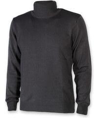 0abfad85fb45 Pánský svetr s rolákem Willsoor 8621 v šedé barvě