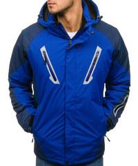 Modrá pánska lyžiarska zimná bunda BOLF F809 e26186b711e