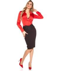 b091be22acef Koucla Dámska sukňa s čipkou
