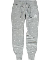 Dámské šedé teplákové kalhoty Converse Star Chevron Print Pant 08e2ba6a1f