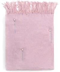 Art of Polo Šál s perličkami růžový eb93aa0898