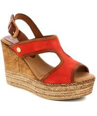440cbdf863a1 Dámske kožené sandále Vaquetillas