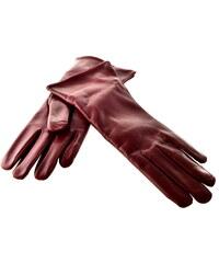Bohemia gloves Dámské kožené rukavice - bordo 9fba72a1ac